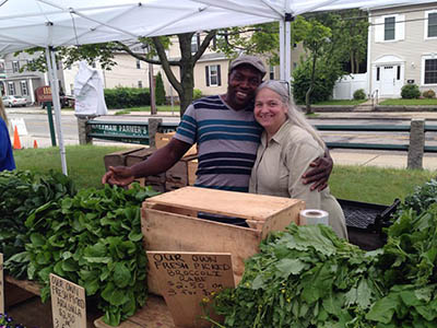 Raymond and Janey from Dick's Market Garden