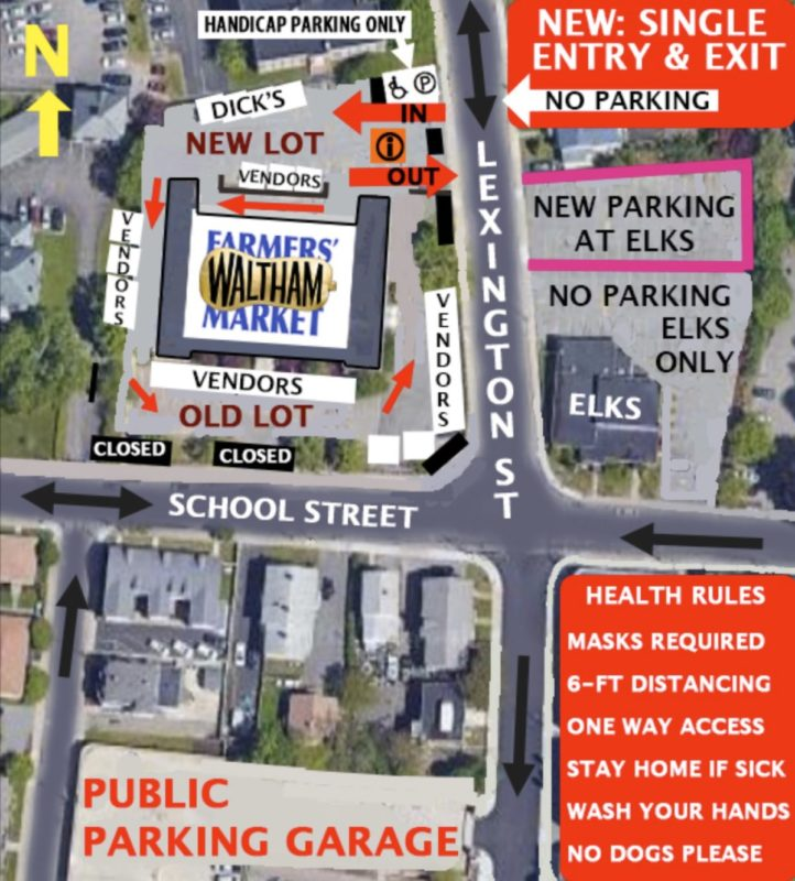 Map of new market layout